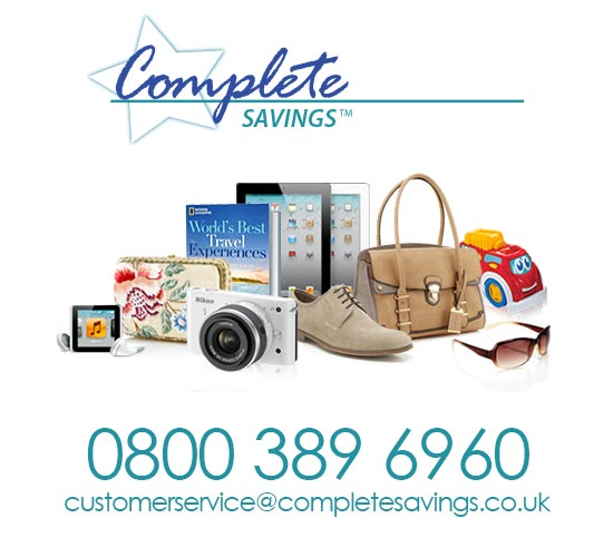 Complete Savings phone and email address