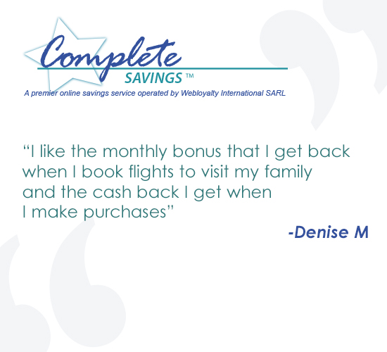 Denise M likes the Complete Savings programme