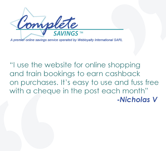 Nicholas reviews Complete Savings