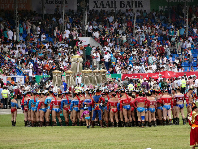 See the Strong Man games in Ulaanbaatar Mongolia