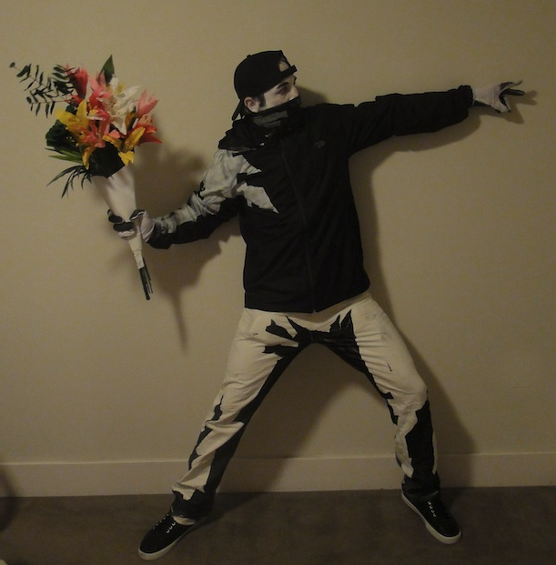 Awesome Banksy costume