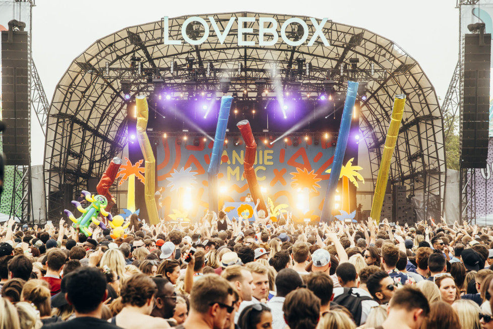 Lovebox is a dance music festival in the UK