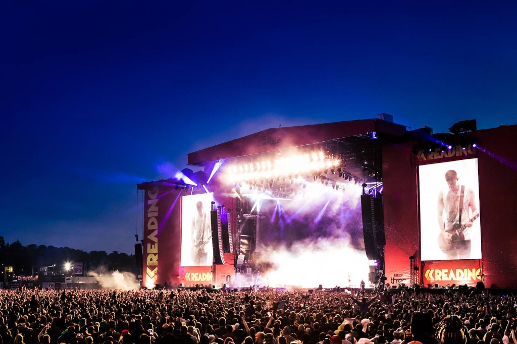 Reading Festival is a popular alt-rock festival