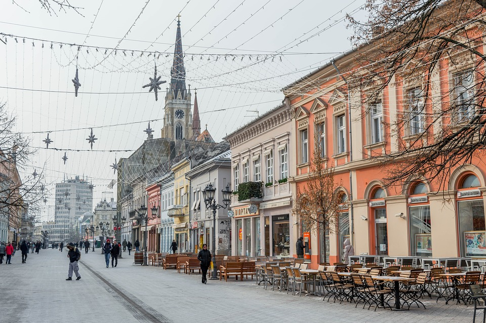 Novi Sad Serbia alternative holiday destination