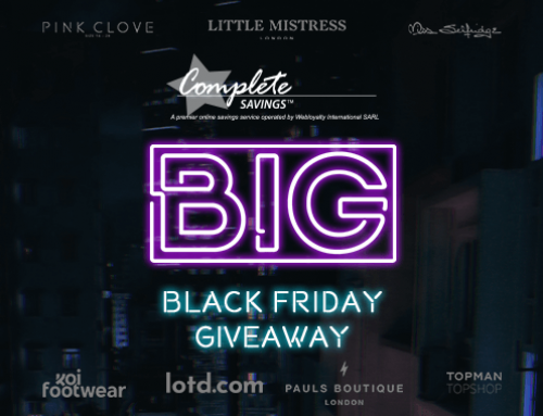 Complete Savings BIG Black Friday Giveaway!